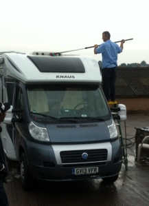 Knora Getting a Wash - Check the Health and Safety