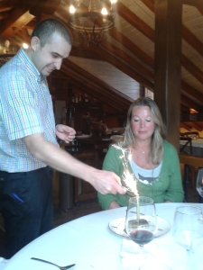 Anniversary @ potes restaurant