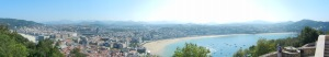 San Sebastian panorama
