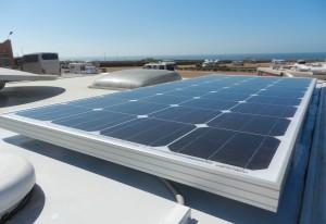 Shiny Solar Panel